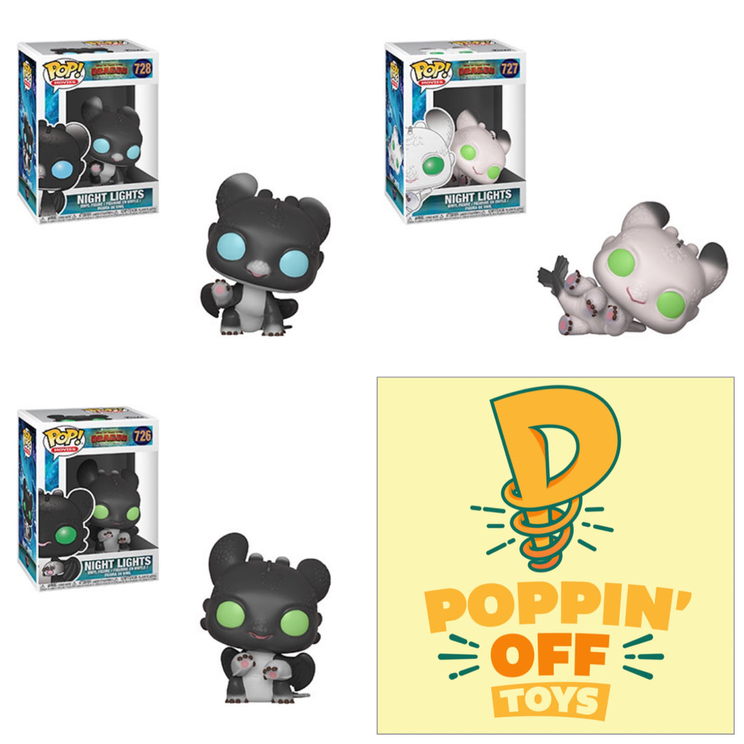 Pop! HTTYD: Bundle Of 3
