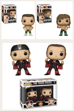 Pop! Wrestling: Bullet Club - Bundle!