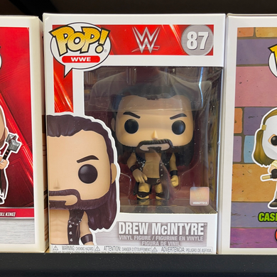 Funko Pop! WWE: Drew McIntyre (In Stock) Vinyl Figure