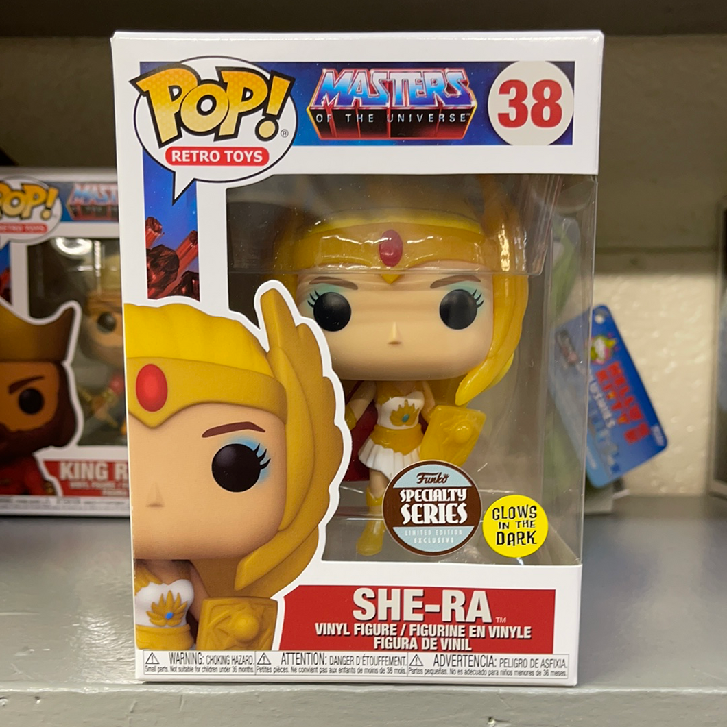 Funko Pop! MOTU: She-Ra (GITD) Specialty Series (In Stock)