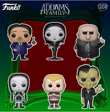Pop! Movies: Addams Family (Animated) Singles