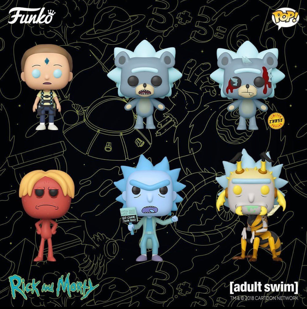 Pop! Rick & Morty S4 - Bundle
