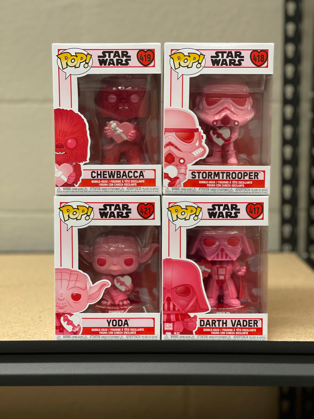 Pop! Star Wars: Valentine Bundle (In Stock) Vinyl Figure
