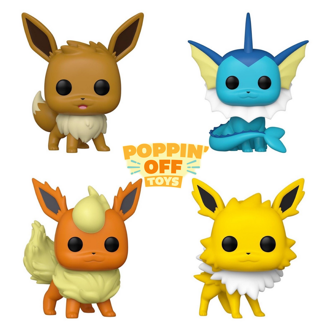 Pop! Games: Pokémon S4