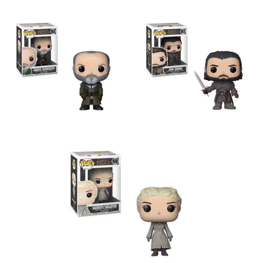 Pop! Television: Game of Thrones- Bundle