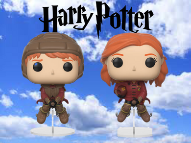 Pop! Harry Potter - Ginny/Ron Quidditch Bundle
