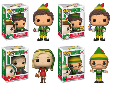 Pop! Movies: ELF BUNDLE w/Chase