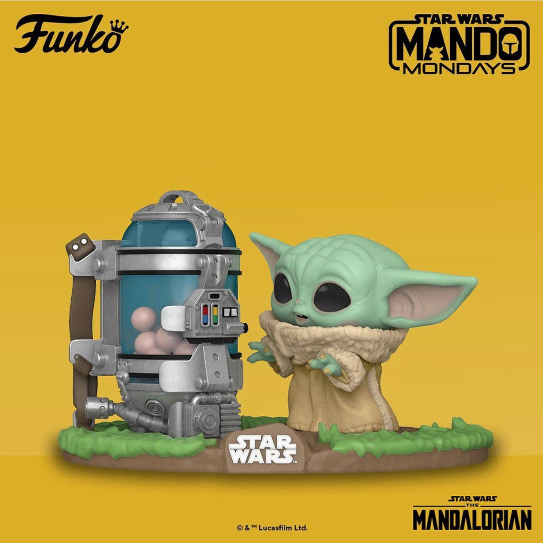 Pop! Deluxe Star Wars: The Mandalorian - Child w/Canister