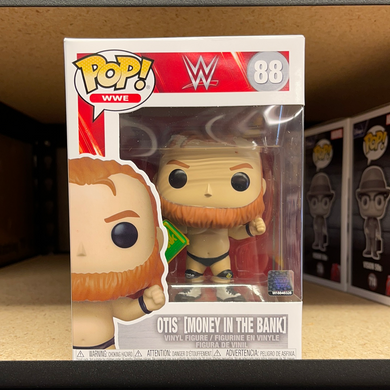 Funko Pop! WWE: Otis w/MITB (In Stock) Vinyl Figure