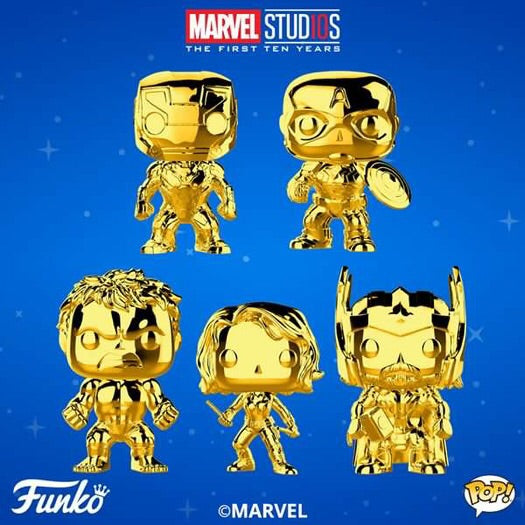 Pop! Marvel: MCU 10 - BUNDLE