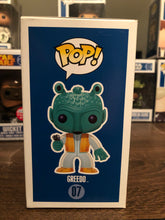 Pop! Star Wars: Greedo (Blue Box) (9.5/10)