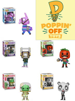 Pop! Games: Fortnite - BUNDLE