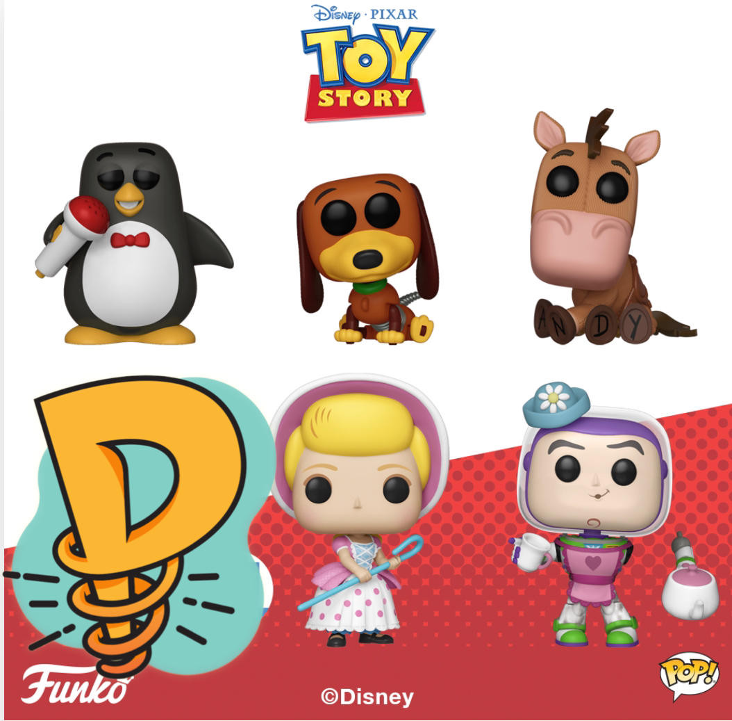 Pop! Disney: Toy Story - BUNDLE