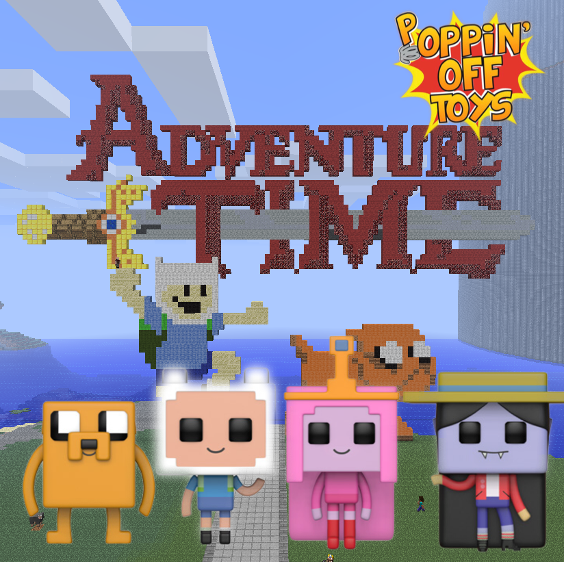 Pop! TV: Adventure Time/Minecraft - BUNDLE