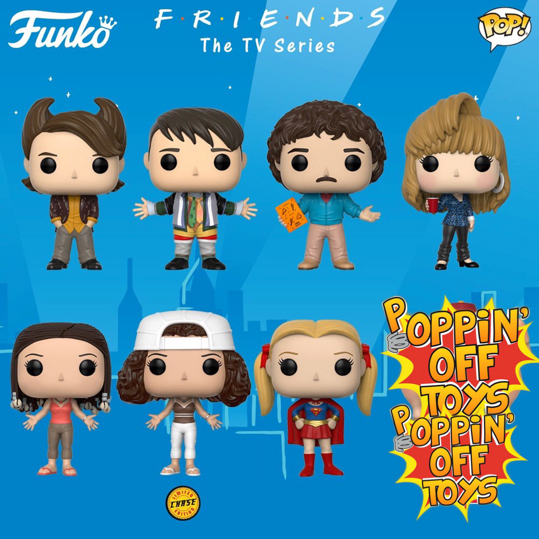 Pop! Television: Friends - Bundle w/Chase