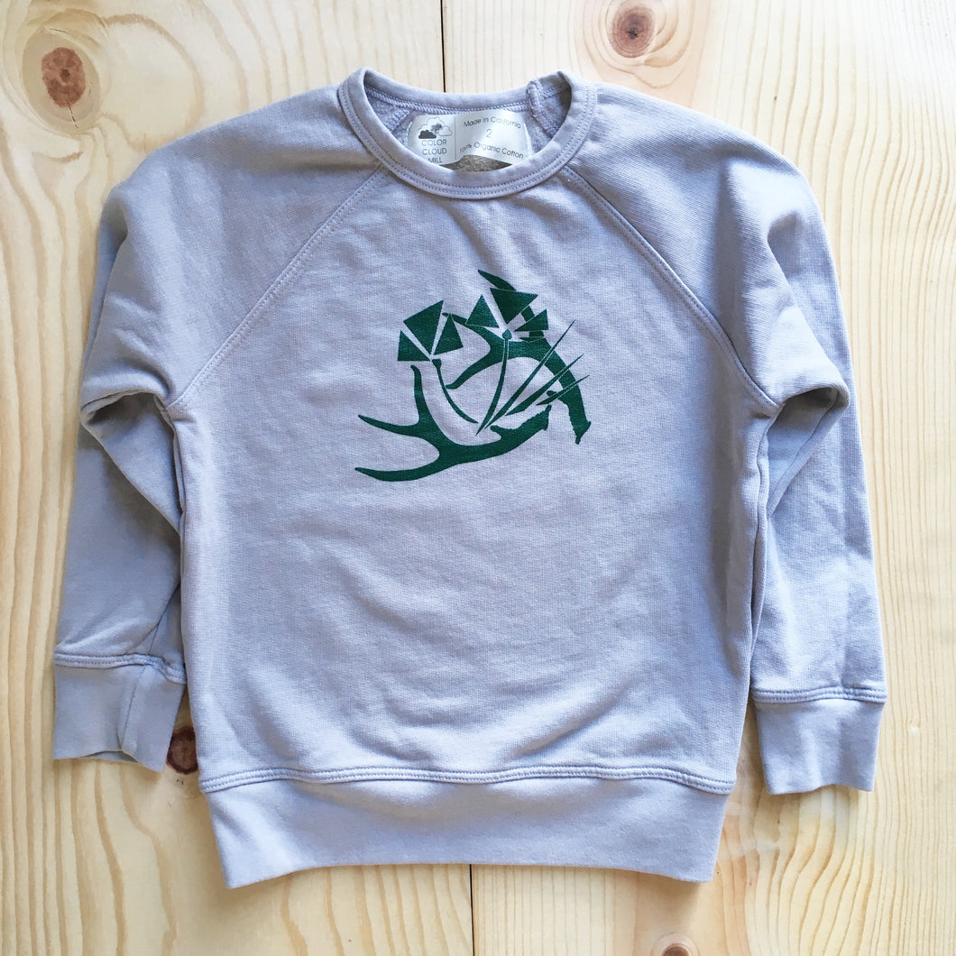 ANTLER Kid's Sweatshirt
