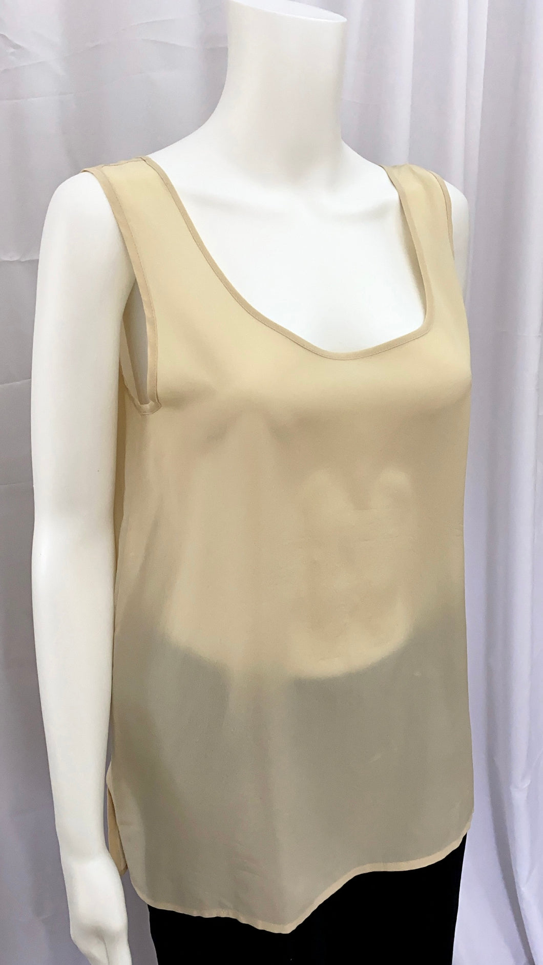 Max Mara Silk Sleeveless Blouse