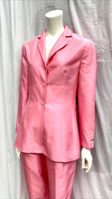 Pink Silk Suit