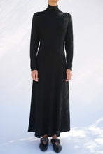Black Wool Dress