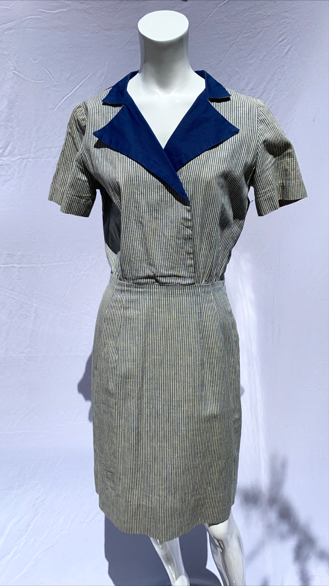 50s Cotton Work Dress