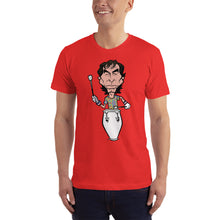 Mickey Hart Grateful Dead Band Member Caricature Short-Sleeve T-Shirt - GlipGlopShop.com