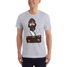 Brent Mydland Grateful Dead Band Member Caricature Short-Sleeve T-Shirt - GlipGlopShop.com