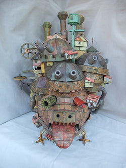 Howl's Moving Castle - 3D Paper Model - Sweet Kome