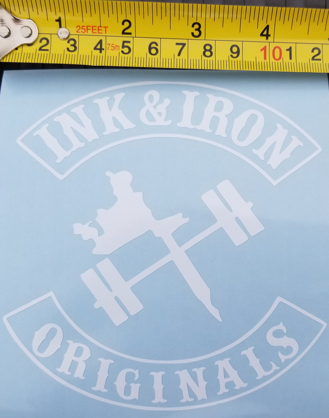 Ink & Iron Vinyl Decals - Ink&Iron Clothing