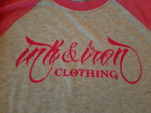Ink & Iron Women's Baseball Style T - Ink&Iron Clothing