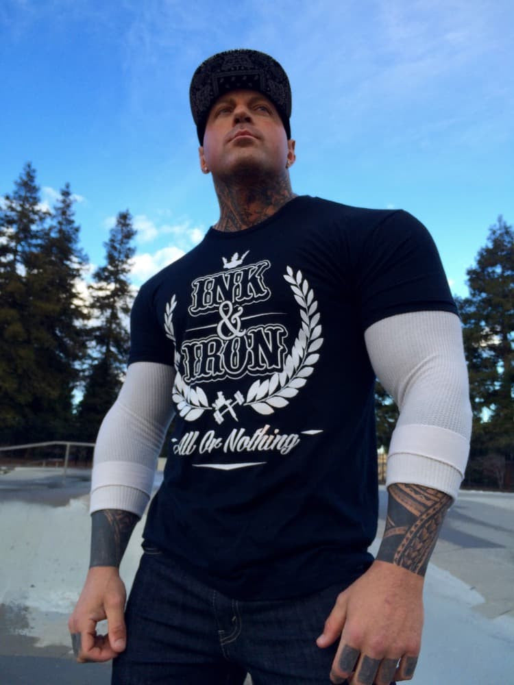 Ink & Iron All or Nothing T - Black - Ink&Iron Clothing