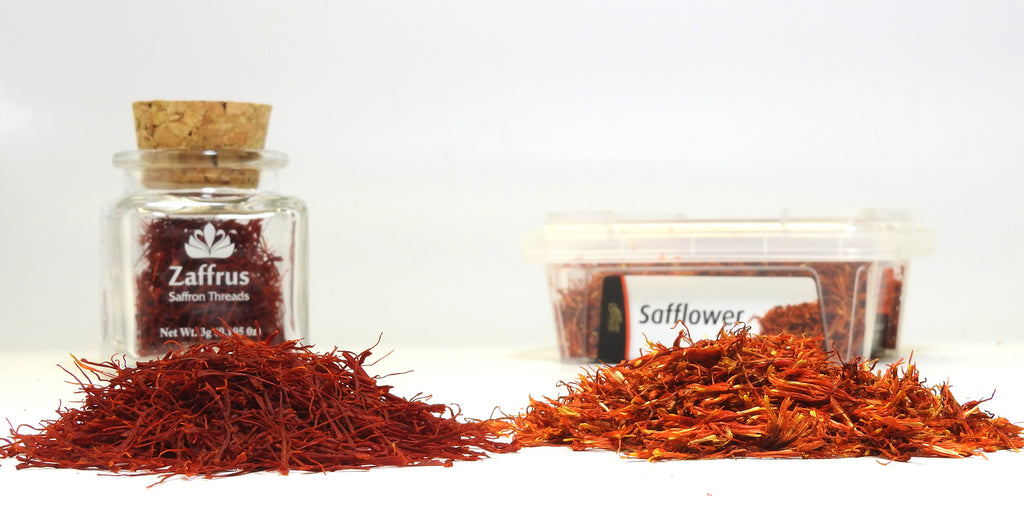 Safflower is NOT Saffron!