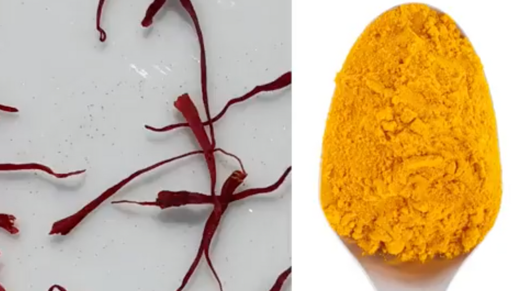 Here's the Real Difference Between Saffron and Turmeric
