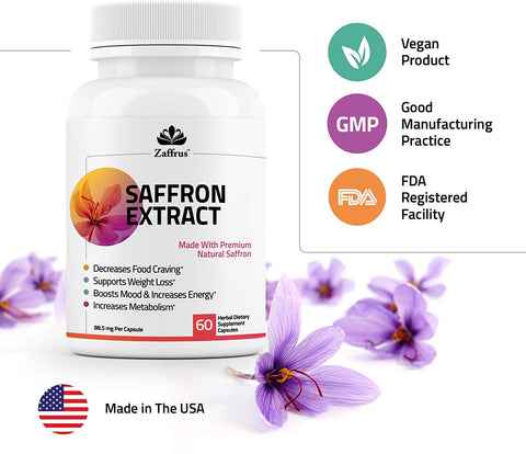 Benefits Of Saffron Extract Helping Everything From Your Mood To