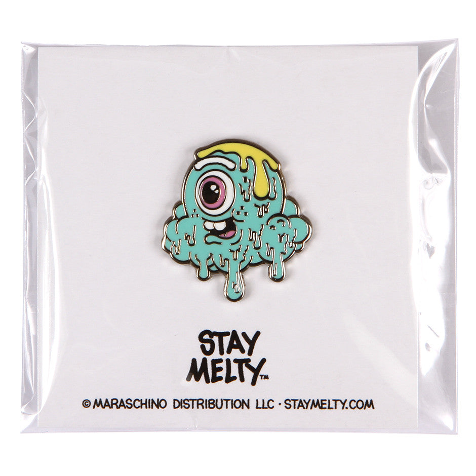 Motley Melty (Teal) Enamel Pin