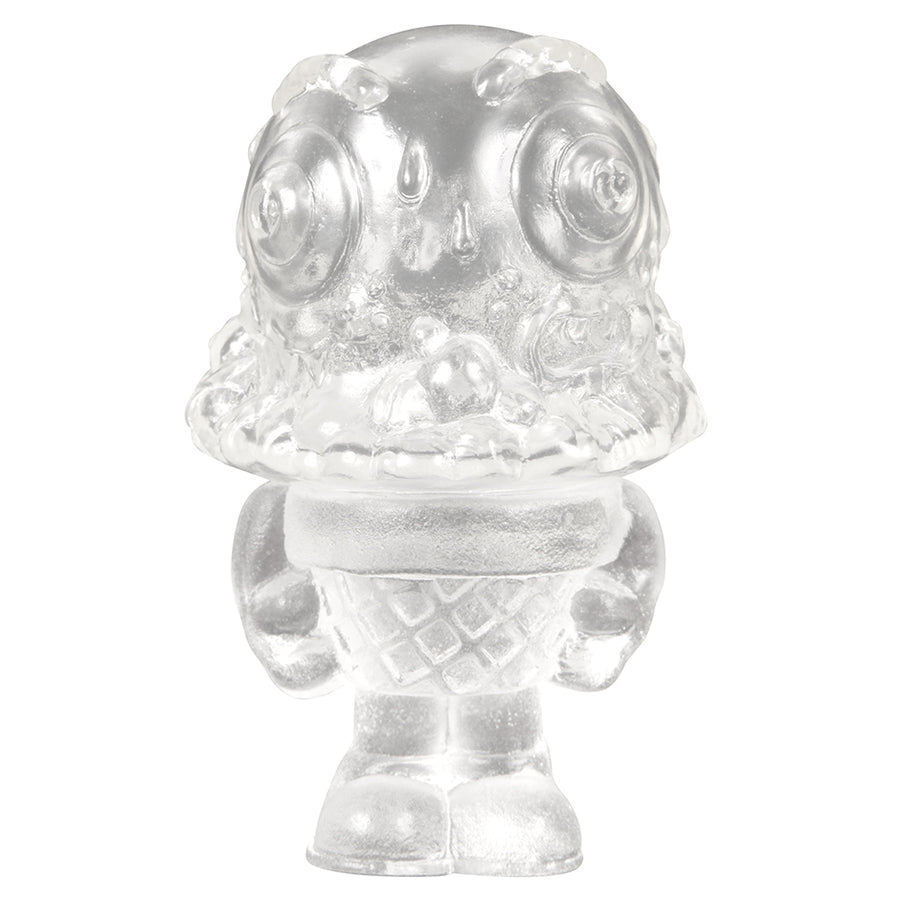 "3"" Clear 2-Faced Mister Melty"