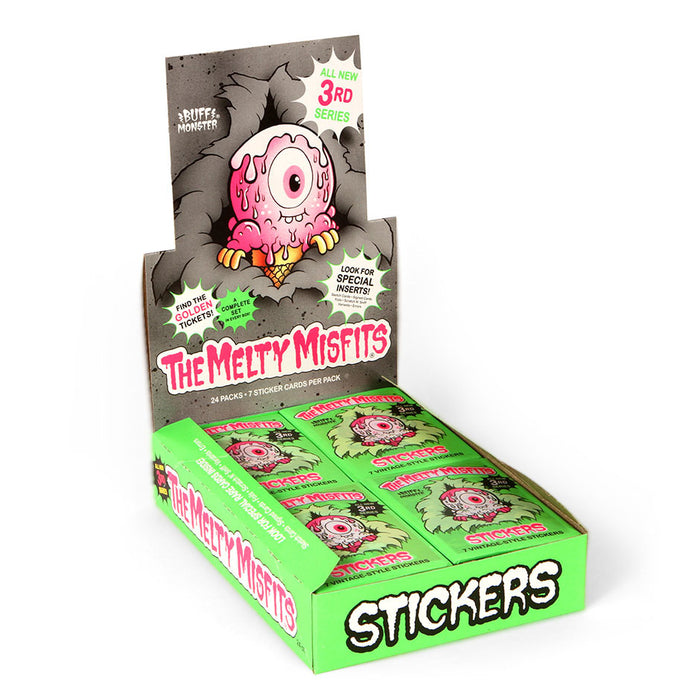 Full Box of The Melty Misfits Series 3