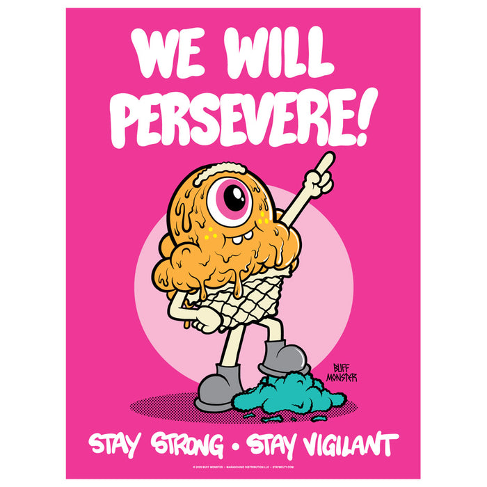 We Will Persevere Poster