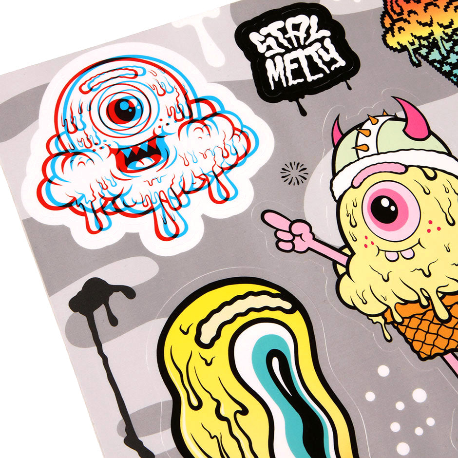 Stay Melty Sticker Sheet