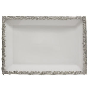 Paisley Rectangular High Tea Platter - HomeSimplicity