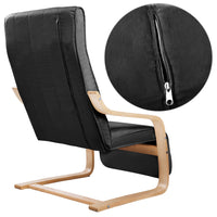 Robin Armchair with Adjustable Footrest