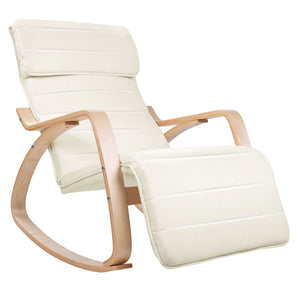 Ariana Rocking Chair & Adjustable Footrest full view