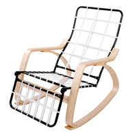 Ariana Rocking Chair & Adjustable Footrest without cushion