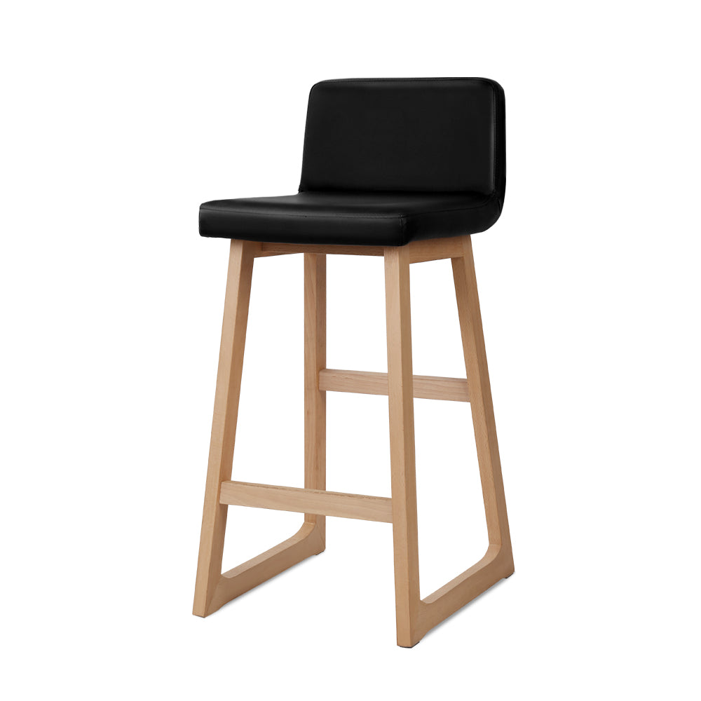 Bolero - Black Bar Stools (Set of 2) full view