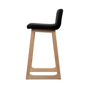 Bolero - Black Bar Stools (Set of 2) side view