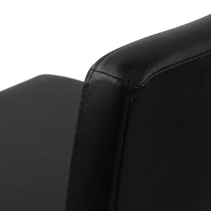 Bolero - Black Bar Stools (Set of 2) stitch detail