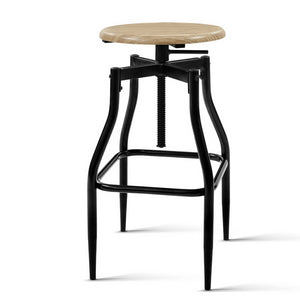 Industrial Bar Stool (Set of 2)