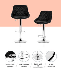 Elton Bar Stool points of interest