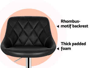 Elton Bar Stool seat description