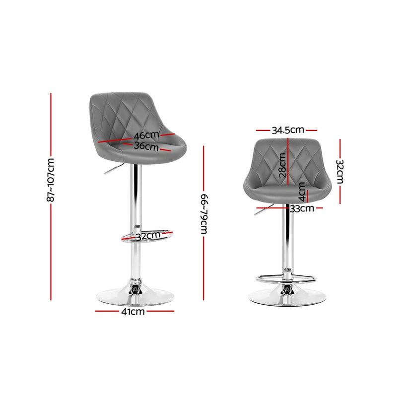 Jackson Bar Stool measurements