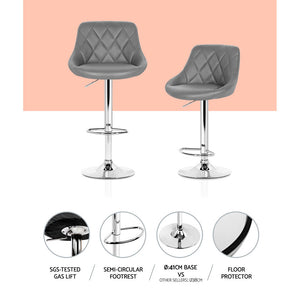 Jackson Bar Stool chair points of interest